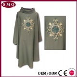 Grey Embroidery Chasuble