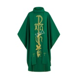 Priest chasuble in Green