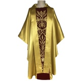 Gold satin Chasuble